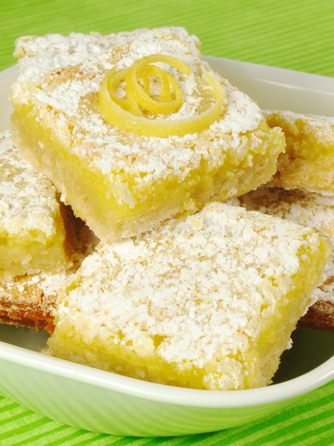 Lemon Bars stock photos