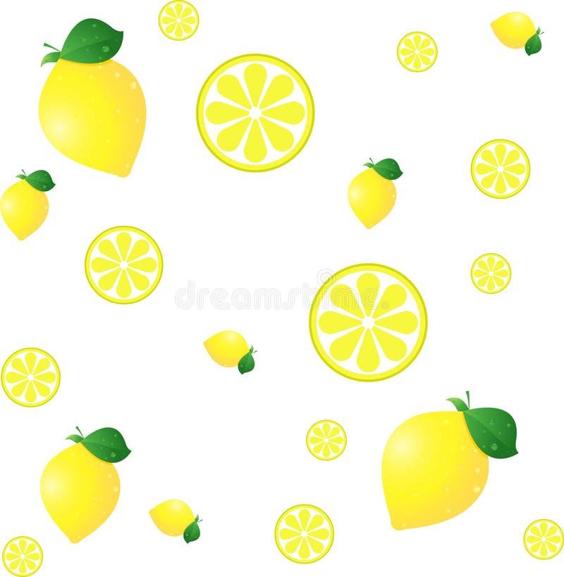 Download Lemon BG stock vector. Illustration of background, illustration - 7127838