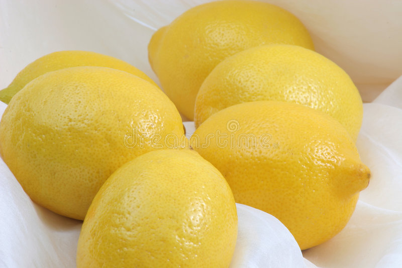 Lemon bunch royalty free stock image