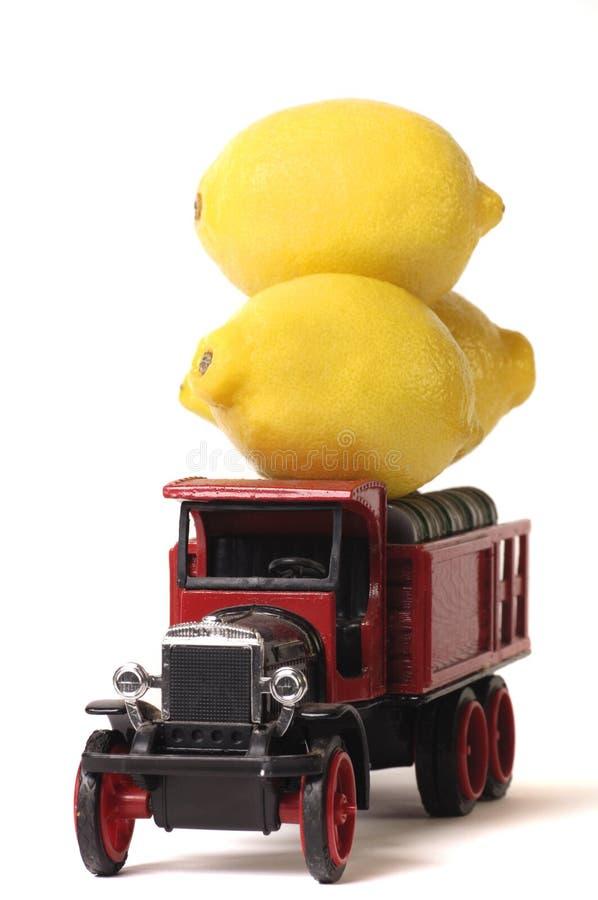 lemon ciężarówka fotografia royalty free