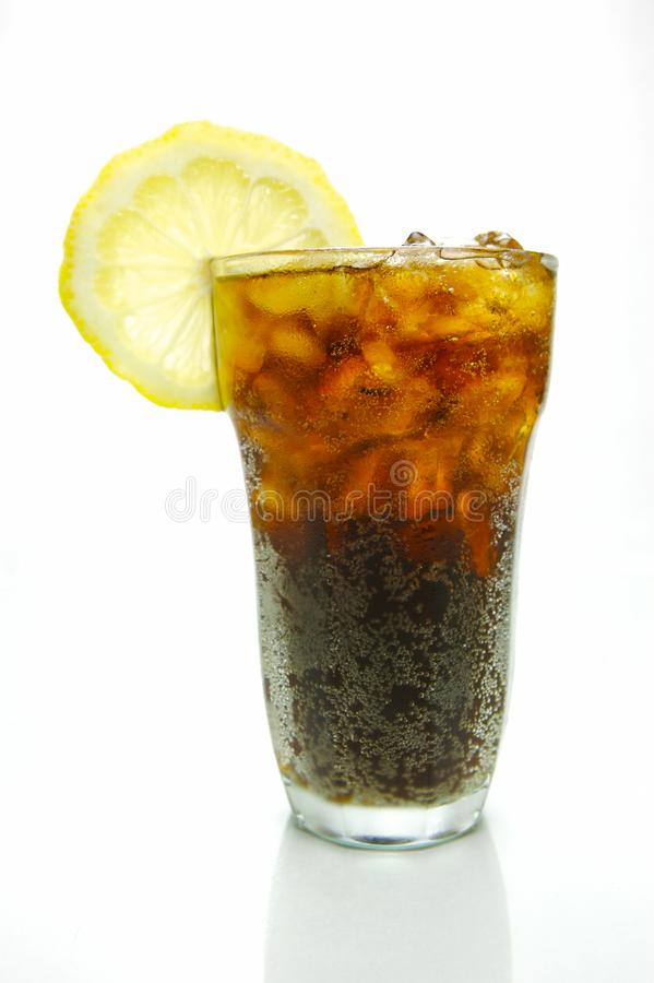 Lemon Cola royalty free stock photography