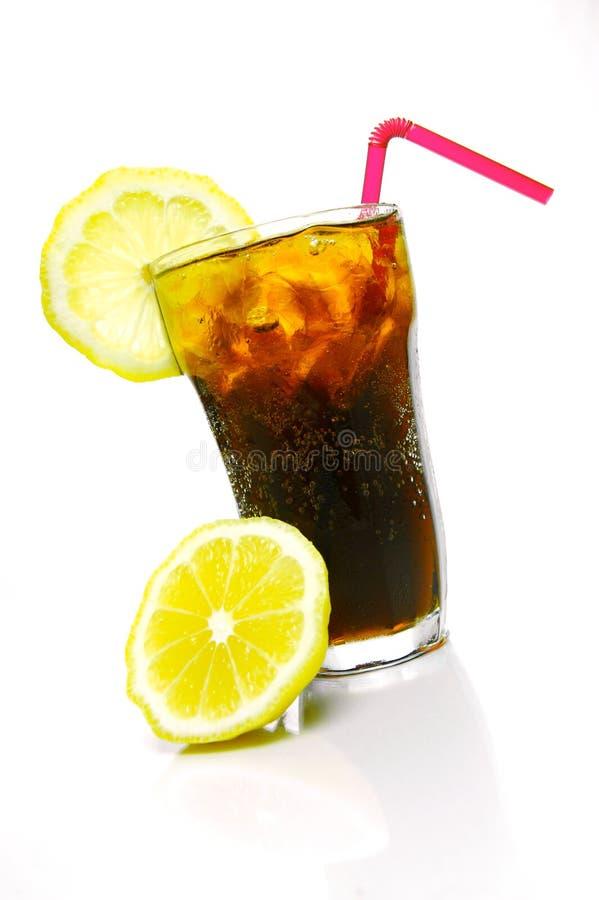 Download Lemon Cola stock image. Image of cube, glass, cooldrink - 6605903