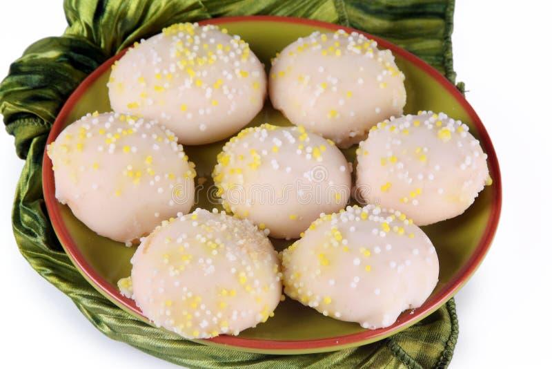 Lemon Cookies royalty free stock photos