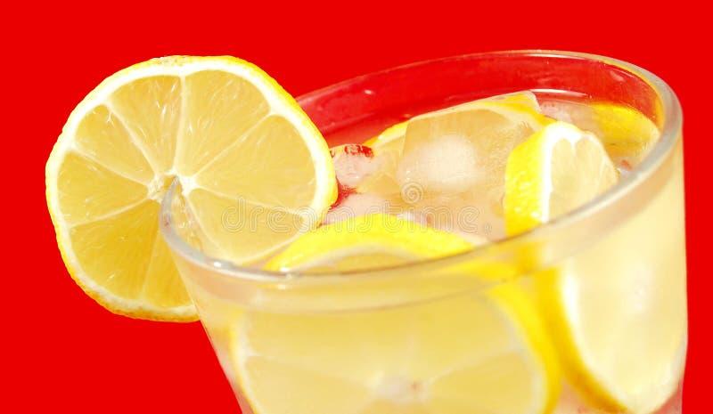 Lemon drink stock image