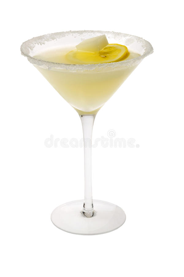 Free Lemon Drop Cocktail Royalty Free Stock Photography - 12850447