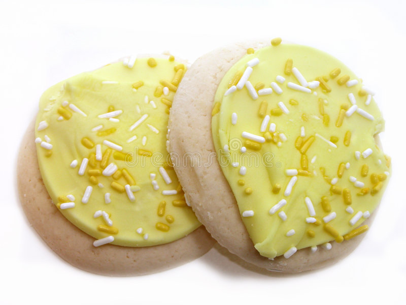 Download Lemon Frosted Sugar Cookies Stock Image - Image: 26457