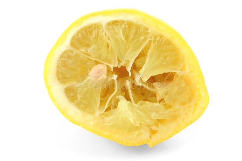 lemon, gniosący white zdjęcie royalty free