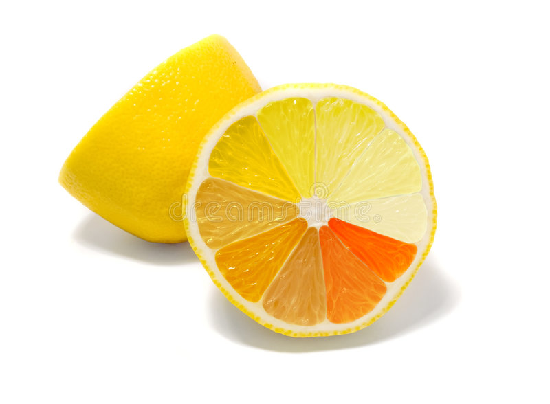Download Lemon with gradient stock image. Image of citric, juice - 6554145