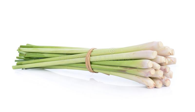 The Lemon grass on white background.  stock photography