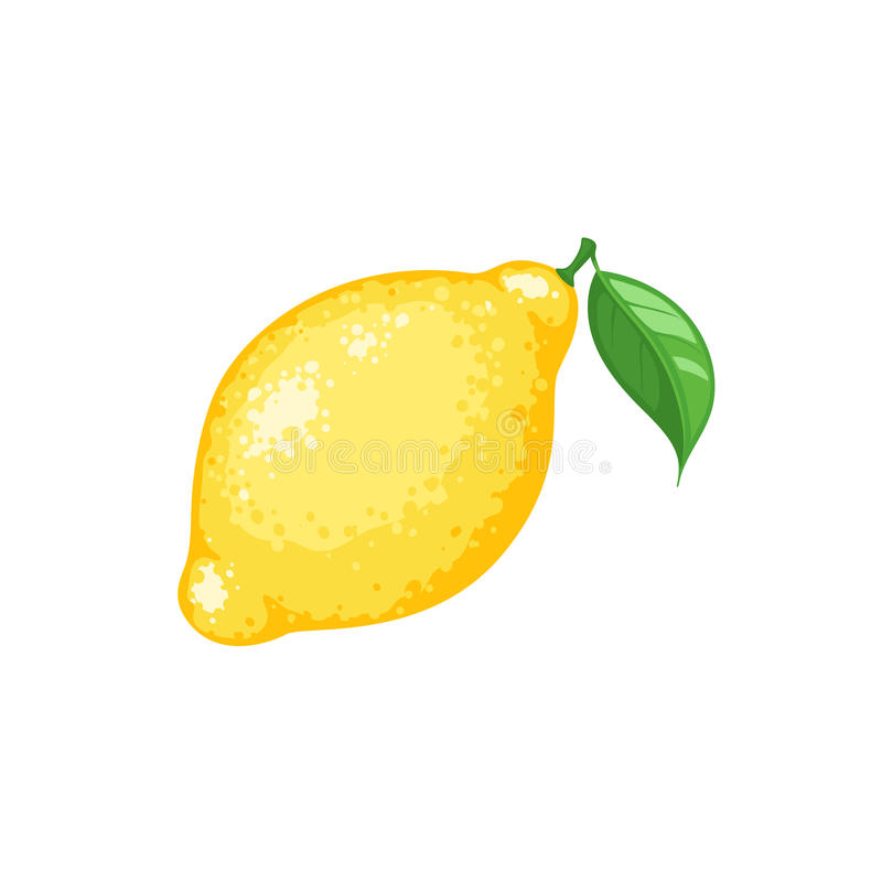 Lemon icon isolated royalty free illustration