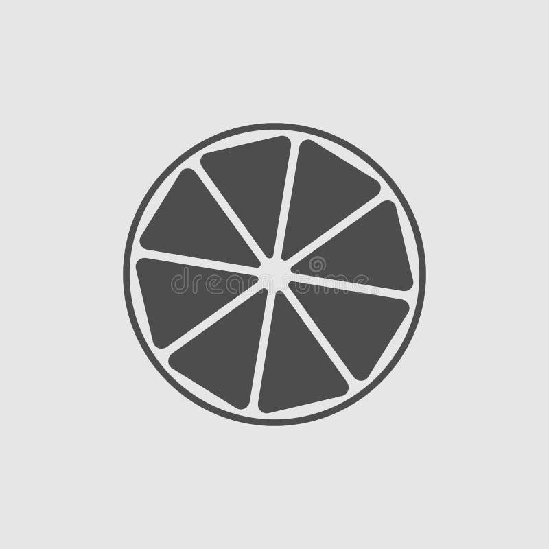 lemon icon royalty free illustration