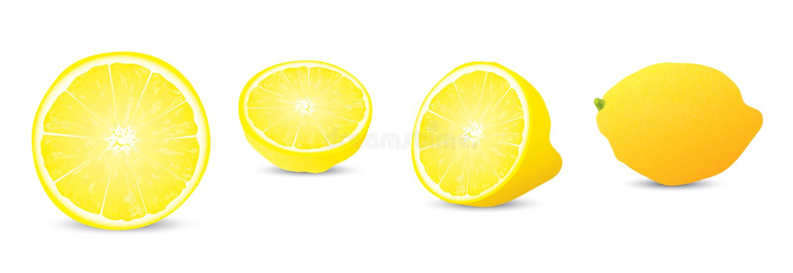 Download Lemon Illustration Collection Stock Illustration - Illustration: 18894184
