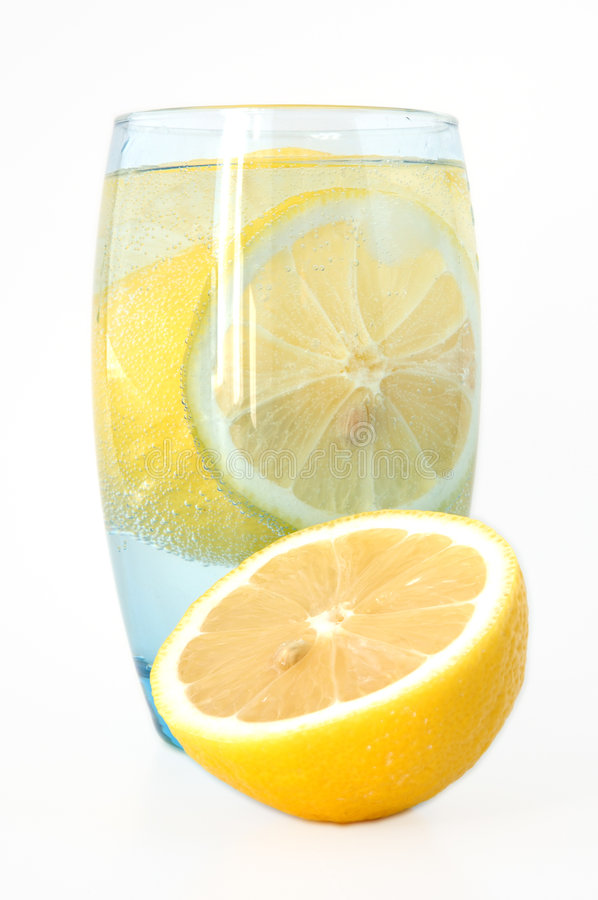 Free Lemon In Water. Stock Photography - 4492212