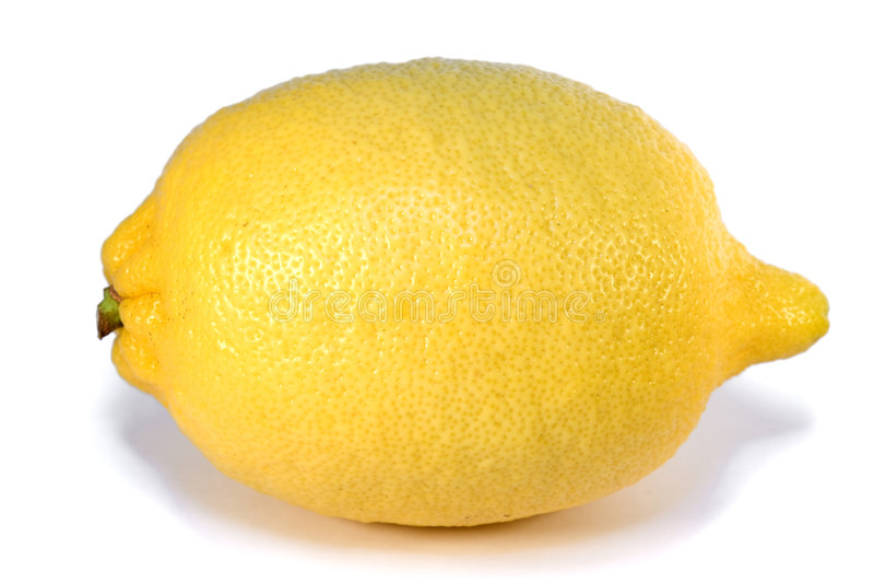 Lemon isolated royalty free stock photos