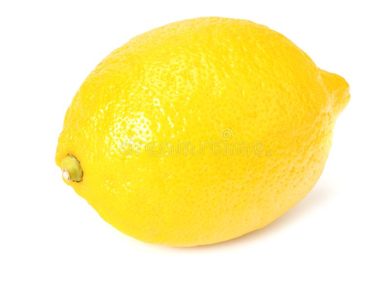 Lemon isolated on white background. healthy food royalty free stock photo