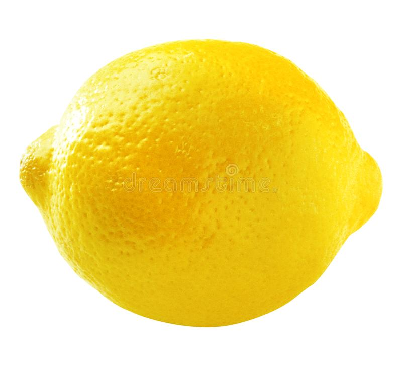Lemon isolated on white. And PNG file with transparent background royalty free stock photography