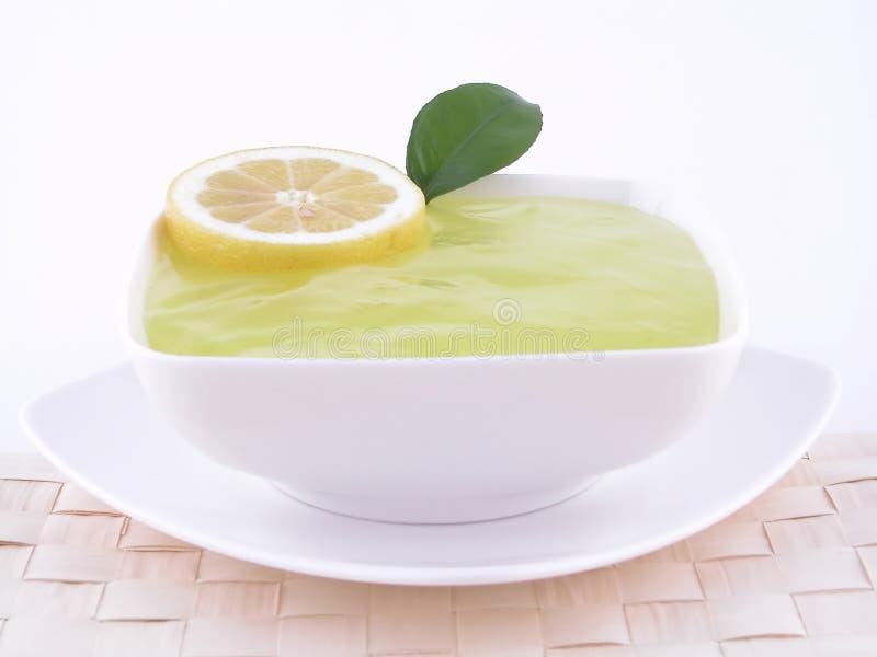 Lemon jelly royalty free stock photography