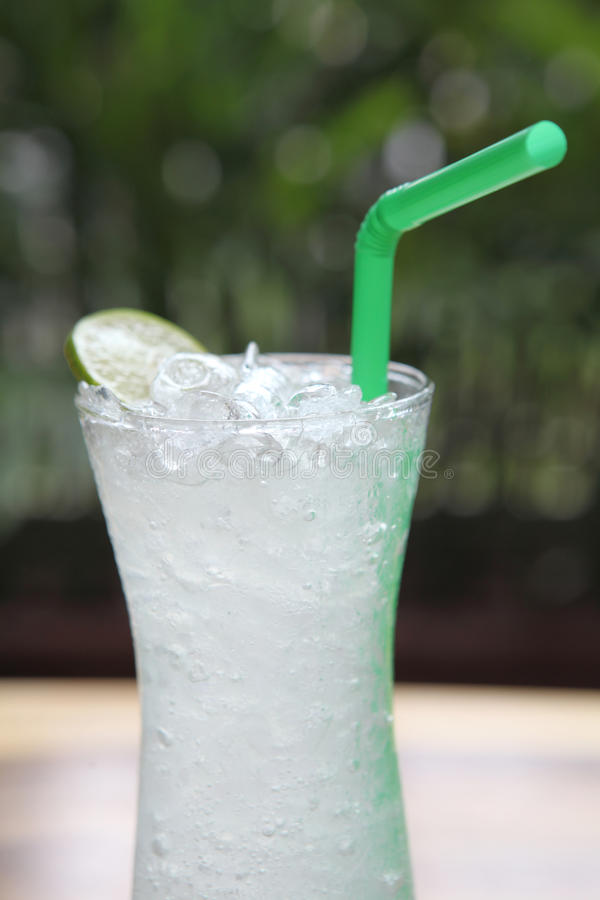 Lemon juice. In close up royalty free stock photos