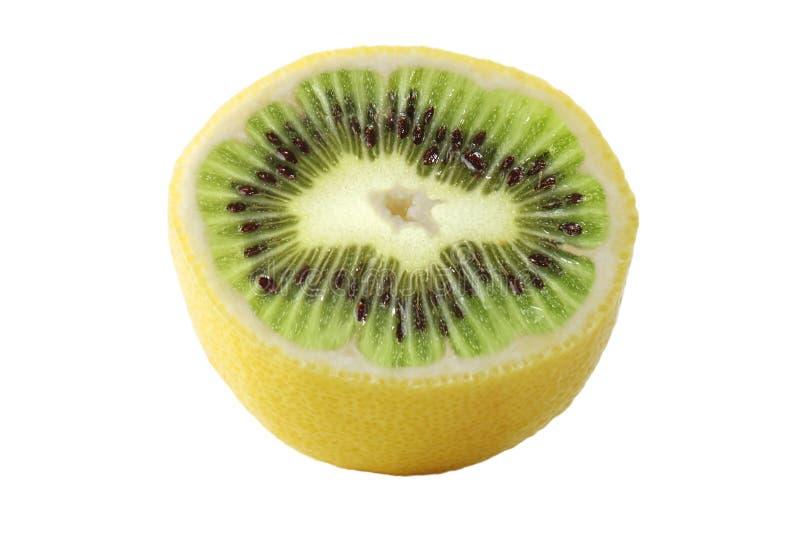 Lemon kiwi royalty free stock images