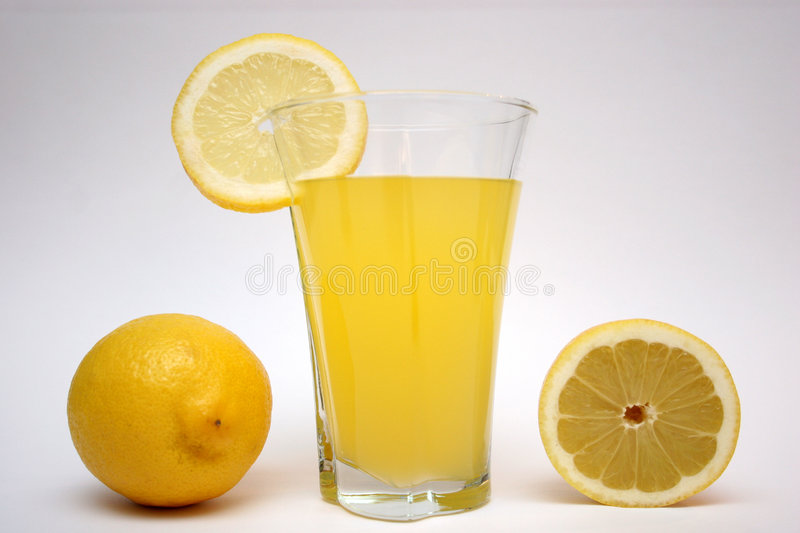 LEMON,LEMONADE. Lemon and lemonade in isolated stock photography