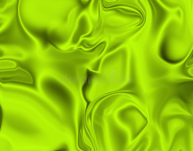 Lemon-lime silk stock photo