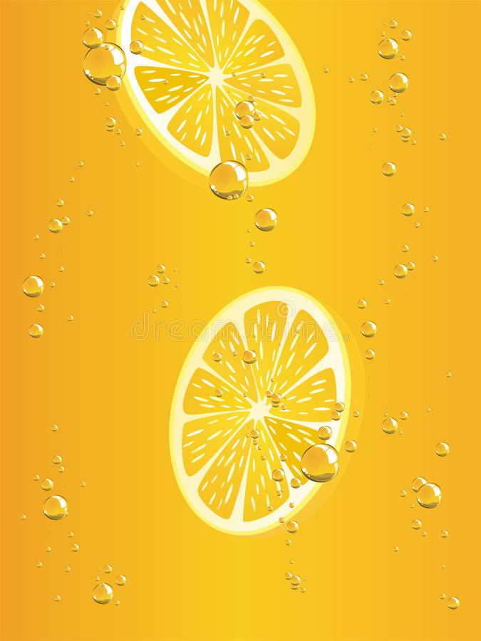 Download Lemon limonade stock illustration. Illustration of closeup - 14540363