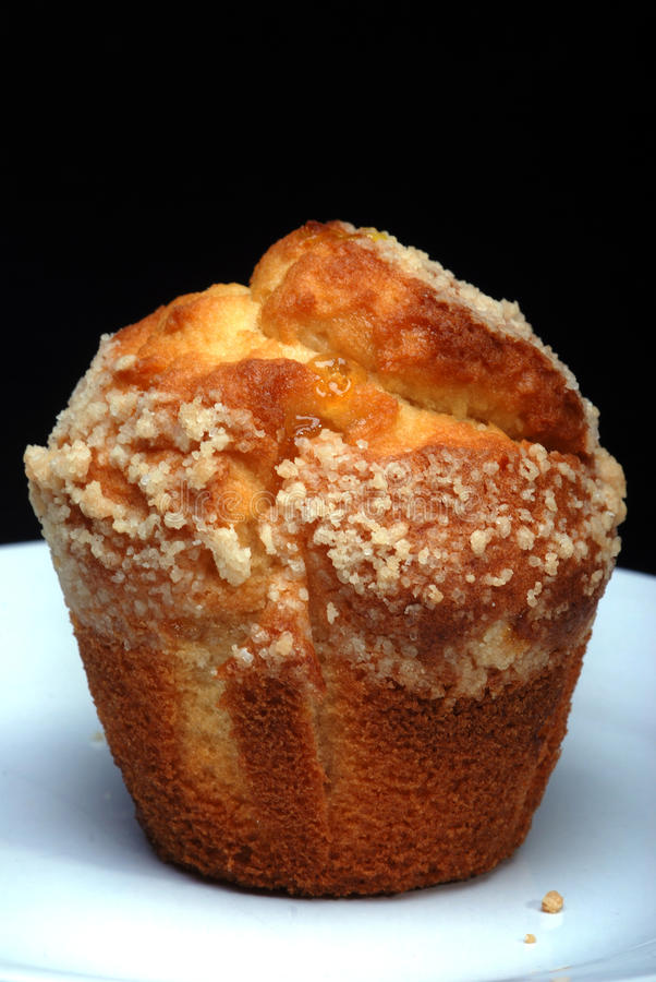 Lemon muffin royalty free stock image