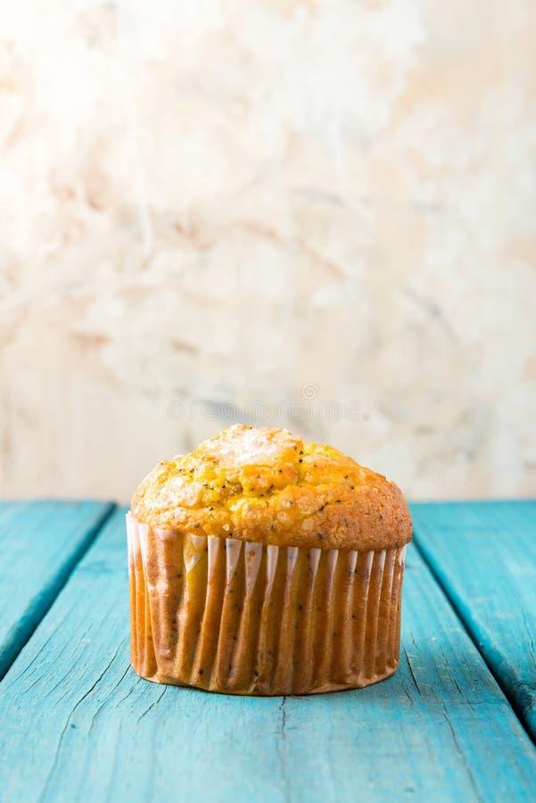 Lemon Muffin royalty free stock photos