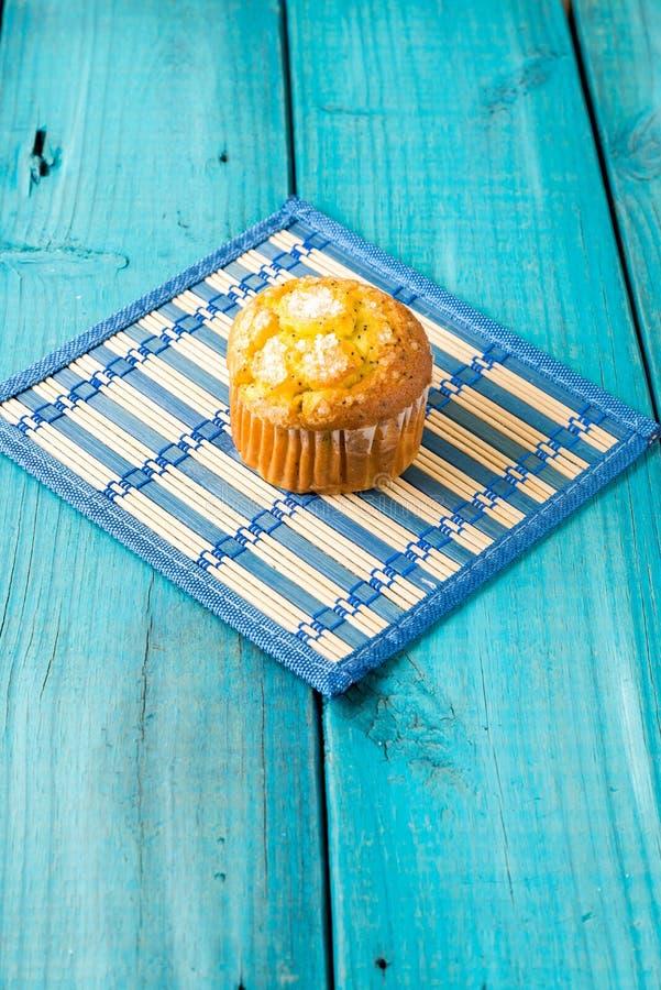 Lemon Muffin royalty free stock photography