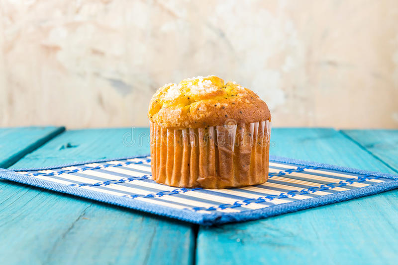 Lemon Muffin royalty free stock images