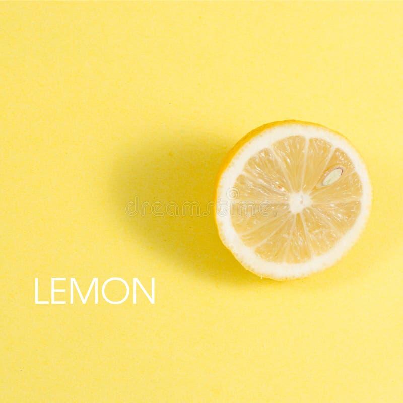 lemon pół obrazy stock