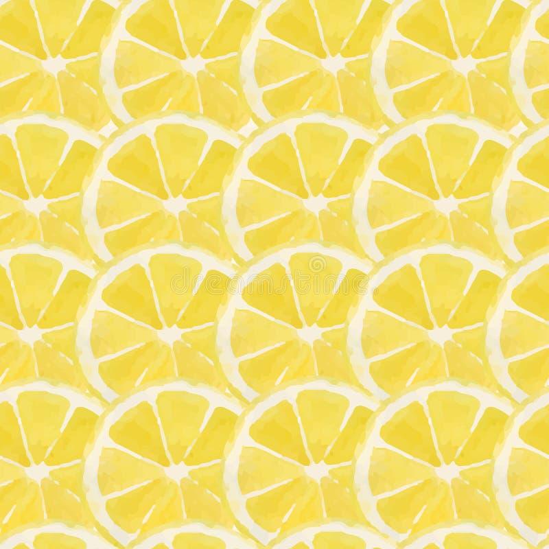 Lemon pattern vector illustration