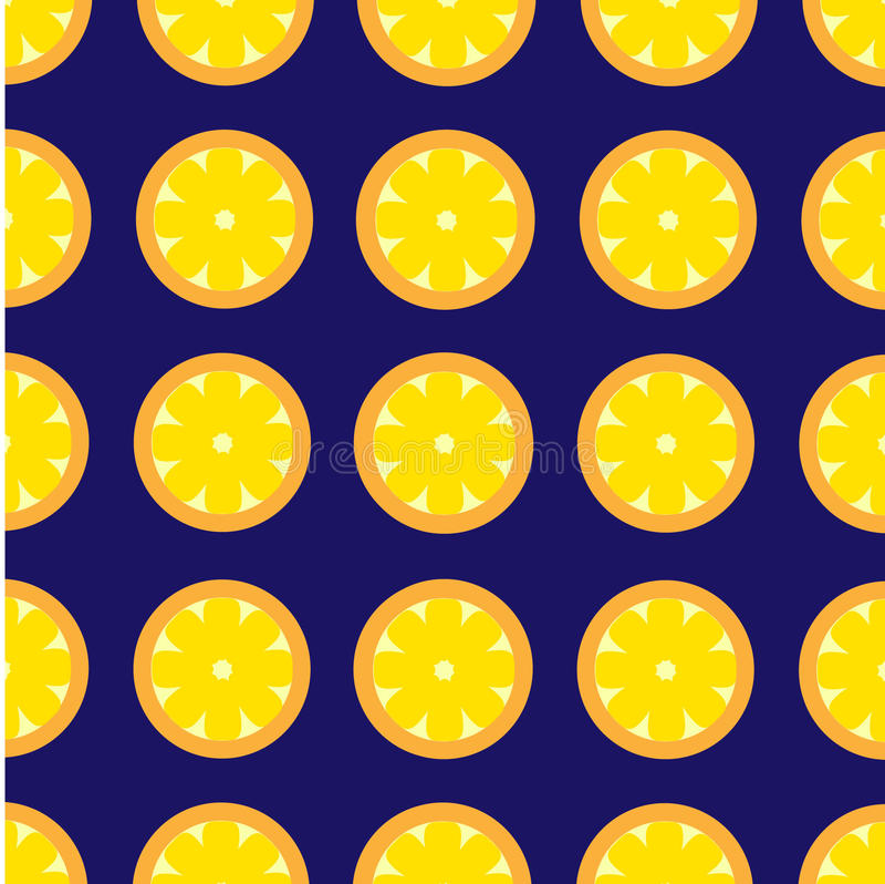 Lemon Pattern Vector Background Retro stock images