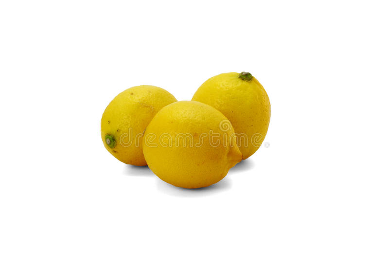 Lemon. The picture is some lemons.Eureka Lemon is a variety of lemon, produced in Sichuan Anyue Chinese, originating in the United States royalty free stock image
