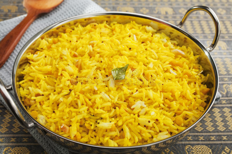 Download Lemon Rice stock image. Image of karahi, pullao, food - 29146251