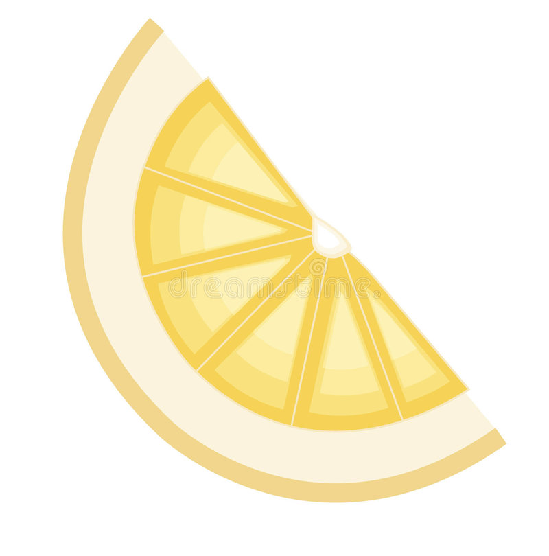 Download Lemon slice stock vector. Image of nature, juice, illustration - 640950