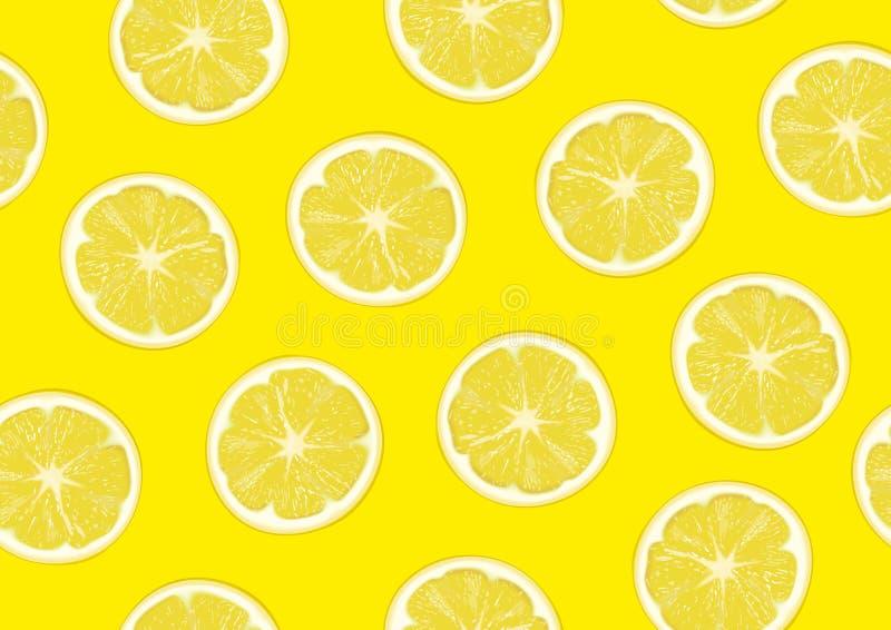 Lemon slice on background stock photo