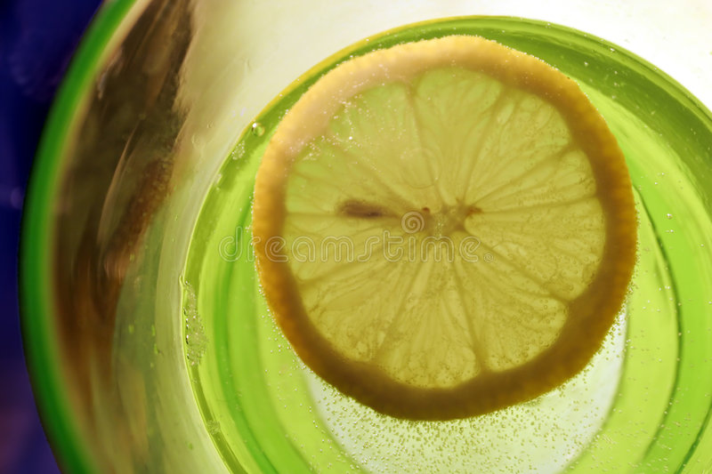 Lemon slices stock photography