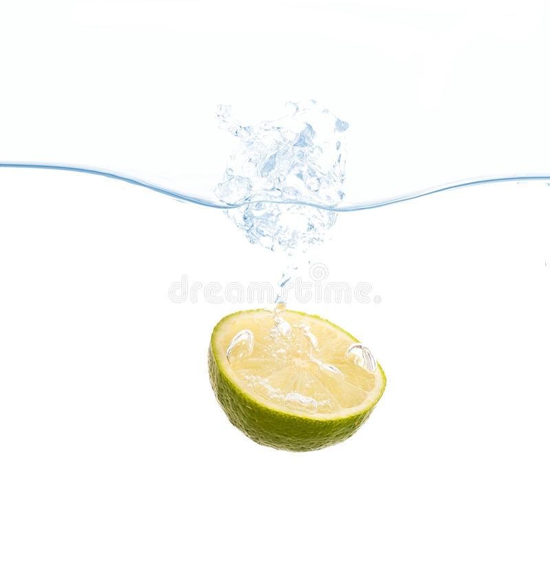 Free Lemon Splash Royalty Free Stock Photos - 14025248