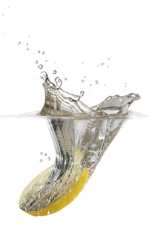 Free Lemon Splash Royalty Free Stock Photos - 15021018