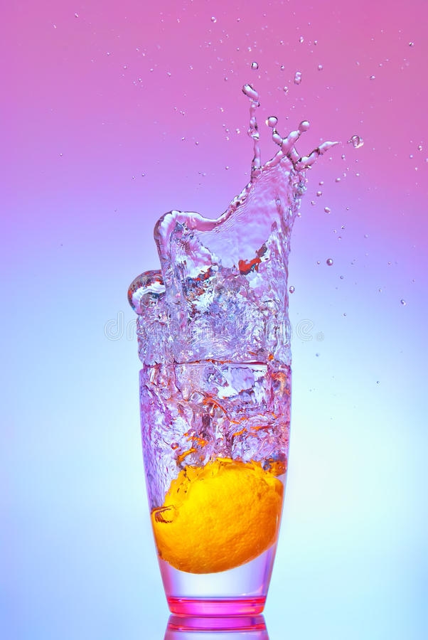 Download Lemon splash stock image. Image of citrus, sophisticated - 22716423
