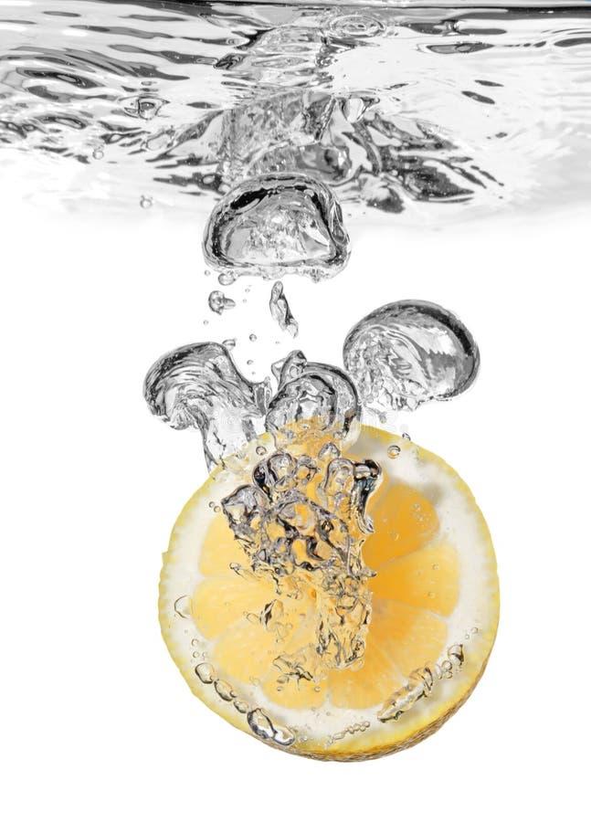 Free Lemon Splash In Water Stock Images - 6477514
