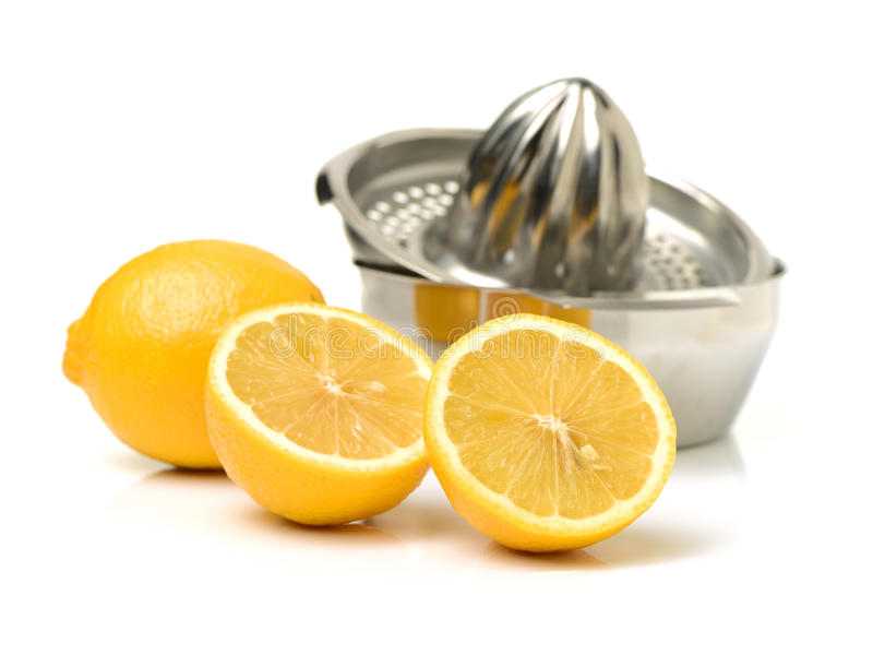 Lemon-squeezer royalty free stock image