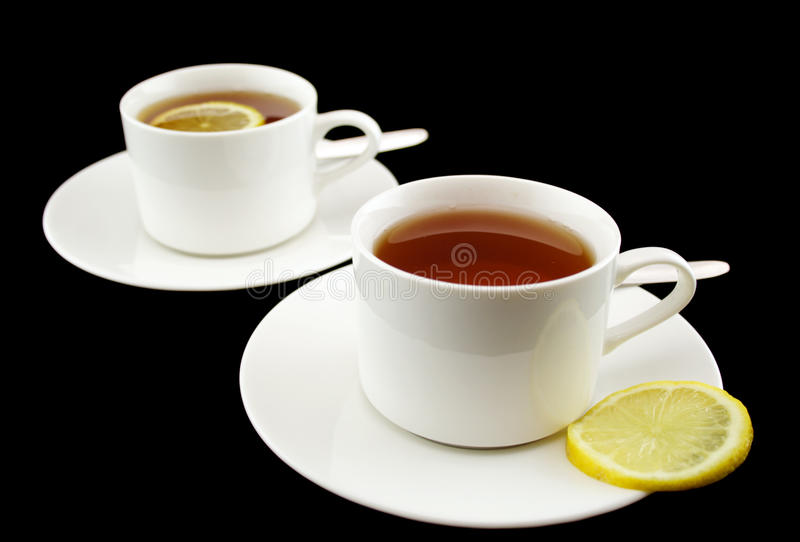 Download Lemon Tea stock image. Image of handle, morning, fruit - 15152631