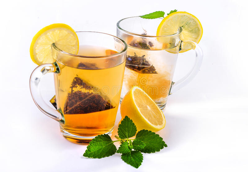 Download Lemon Tea stock image. Image of feeling, breakfast, cold - 27077171