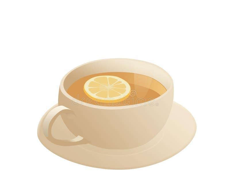 Download Lemon tea stock illustration. Illustration of picture - 29140705