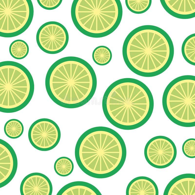 Lemon tropical and exotic fruit pattern. Vector illustration design royalty free illustration
