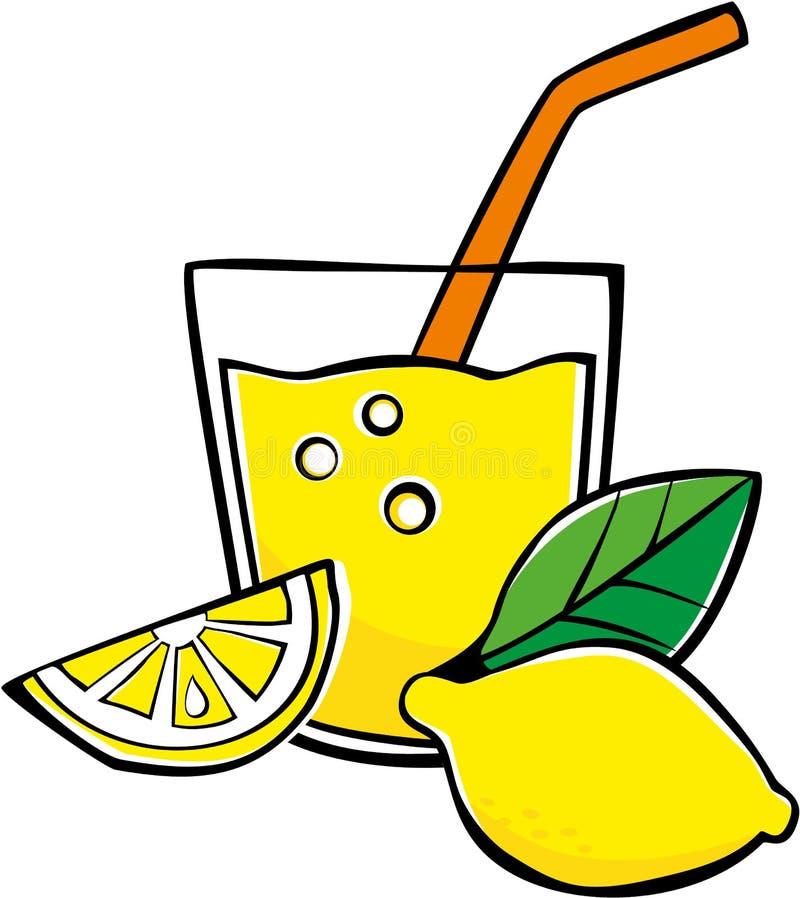 Lemonad royaltyfri illustrationer