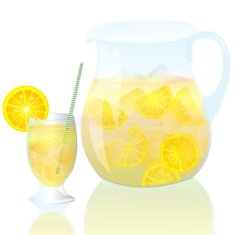 Download Lemonade stock illustration. Image of active, lusty, half - 15122761