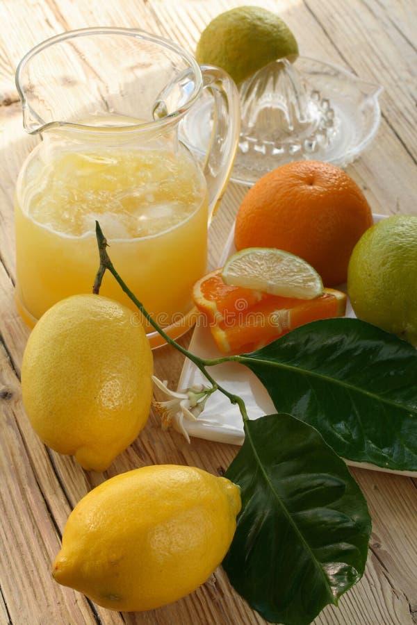Lemonade, cooler royalty free stock image